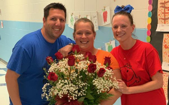 Congratulations to Mrs. Haydt, our Teacher of the Year!